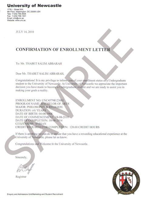 Student Confirmation Letter Nottingham Sle Diplomas The Miim Islamabad