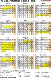 Kalender 2018 Zum Ausdrucken Rheinland Pfalz Kalender 2018 Rheinland Pfalz Ferien Feiertage Pdf Vorlagen
