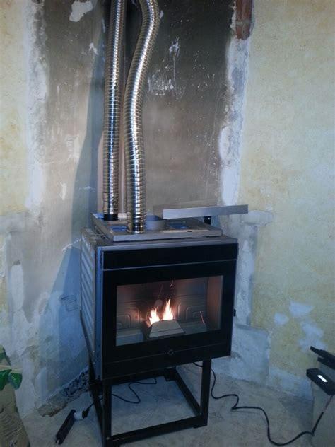 installazione camino pellet decor
