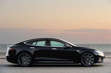 And Tesla Tesla Model S P85 Que Vaut Grand 233 Cran De 43 Cm