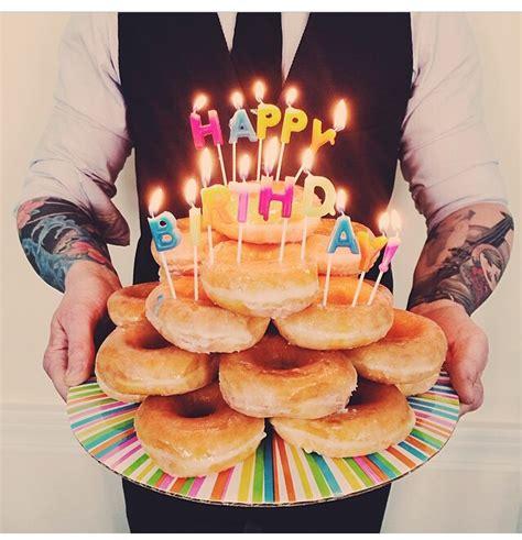 Happy Birthday Doughnuts by Bday Idea Boyfriend Ideas Birthdays