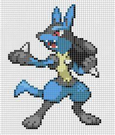 Stitch Size 282930 7555 vaporeon ii by hama poke pixel to do baby artworks and pikachu