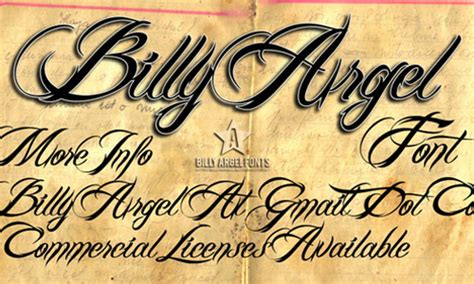 a collection of beautiful calligraphy fonts blueblots