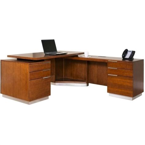 kathy ireland home by martin monterey l shaped desk in