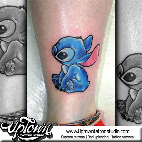 uptown tattoo studio tattoo artists in leicester le3 5ge stitch tattoo from lilo and stitch by uptowntattoostudio