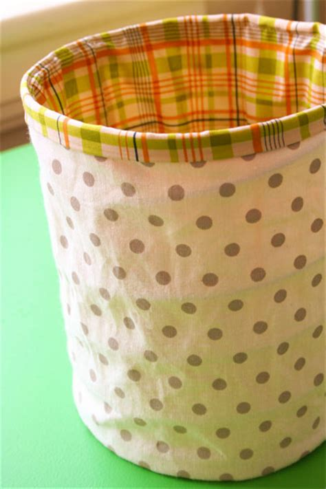 pattern fabric bucket pretty fabric bin organization