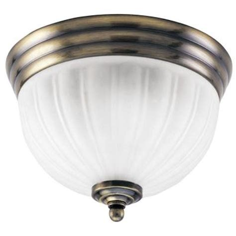 westinghouse 2 light ceiling fixture antique brass