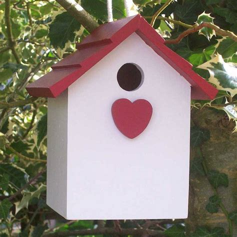 Handmade Bird House - handmade hanging bird house by the painted broom company