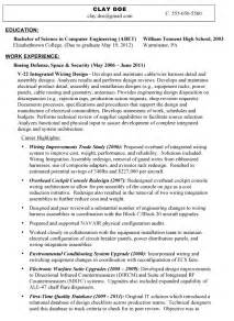veteran resume makeover how to convey a professional