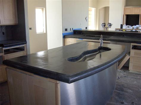 Concrete Countertop With Sink by Concrete Countertop Sink Pictures To Pin On Pinsdaddy