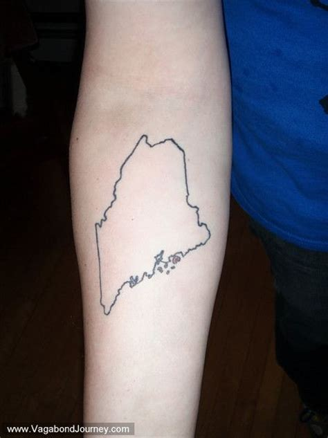 maine tattoo 25 best maine ideas on
