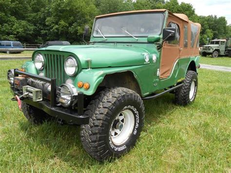 1974 Jeep Cj7 Purchase Used 1974 Jeep Cj6 Original Paint No Reserve