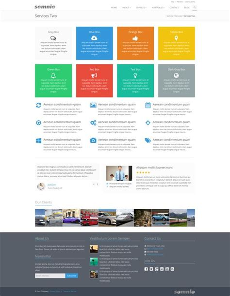 Somnio Premium Sharepoint 2013 Theme Life Improvements Sharepoint Intranet Templates