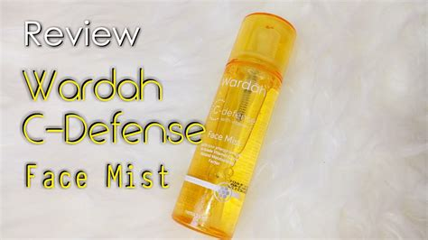 Wardah Defense Mist wardah c defense with vitamin c mist review