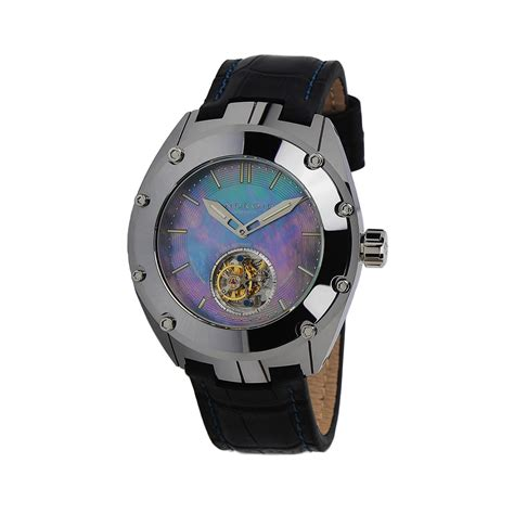 android usa virtuoso tungsten t 100 automatic tourbillon limited edition android usa touch of modern