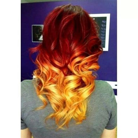 blonde and red hair weave pictures red and blonde ombre my style pinterest blonde ombre