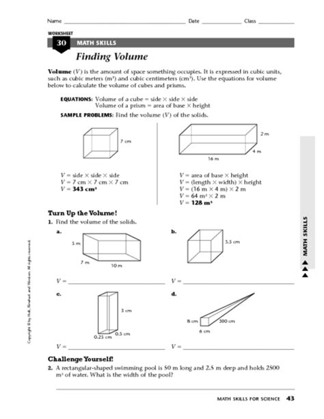 Density Worksheet by Density Word Problems Worksheet Worksheets For School