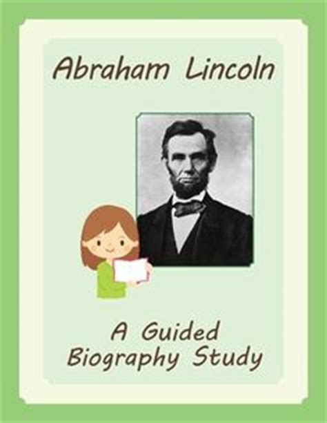 abraham lincoln a biography sparknotes biography project biography and projects on pinterest