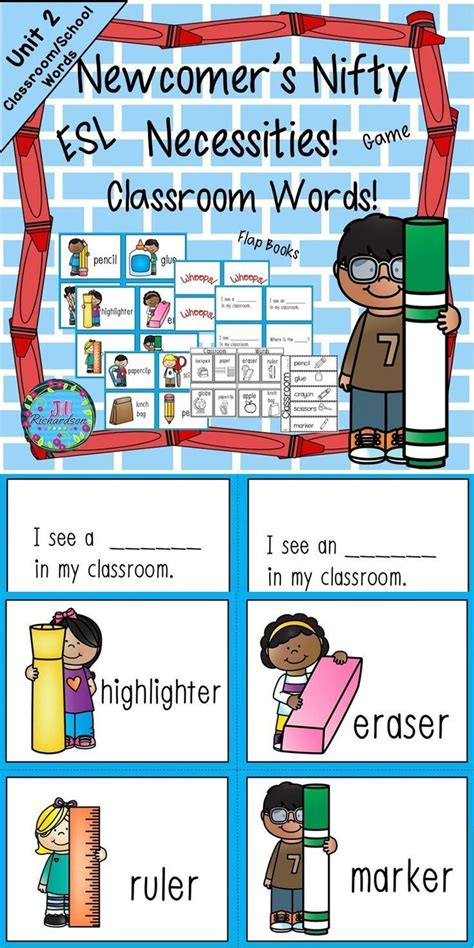 teaching themes in english esl activities for school vocabulary unit 2 great for