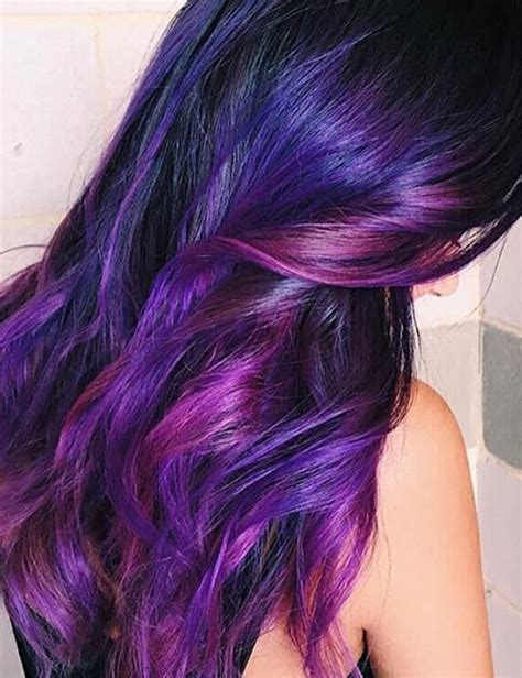 20 purple ombre hair color ideas thick hairstyles 20 breathtaking purple ombre hair color ideas techwiki