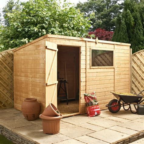 6 X 10 Wood Shed