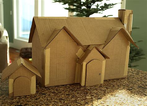 cardboard houses search results for free pattern cardboard christmas houses calendar 2015