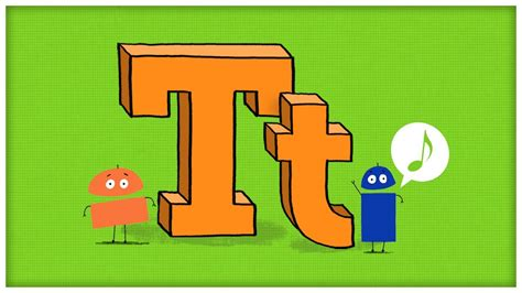 """ABC Song: The Letter T, """"Time For T"""" by StoryBots - YouTube T"""
