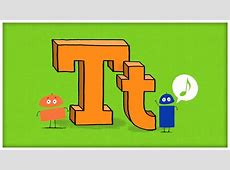 "ABC Song: The Letter T, ""Time For T"" by StoryBots - YouTube T"