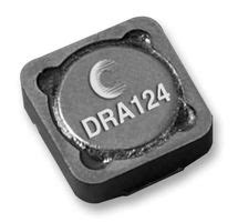 power inductor 2r2 dra124 2r2 r eaton coiltronics power inductor smd 2 2 181 h 7 64 a 14 a dra series 12 5mm x