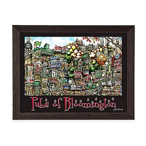 bed bath and beyond bloomington in pubs of bloomington framed wall art bed bath beyond