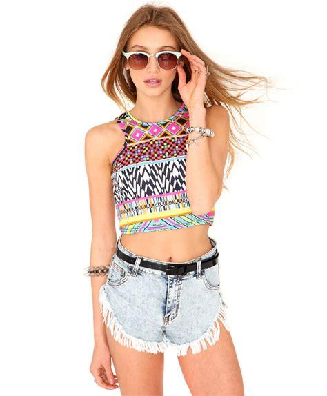 blusas cortas de chicas blusas tipo top para chicas