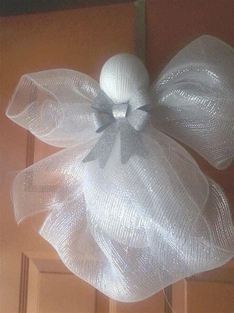 easy deco mesh angel  angel creation  bmmorrell