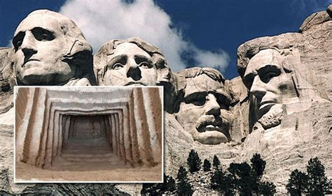 mt rushmore hidden room secret chamber hidden inside mount rushmore leads to this