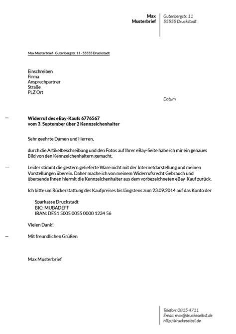 Mustervorlagen Briefe Drucke Selbst Kostenlose Mustervorlagen F 252 R Mahnschreiben Und Widerruftsschreiben