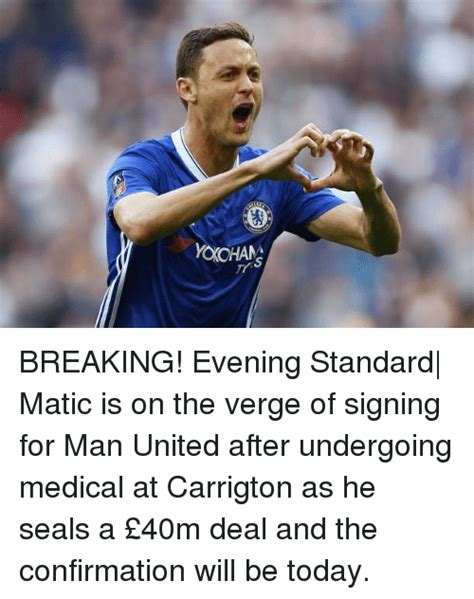 Be On The Verge Of by Yoxohans Breaking Evening Standard Matic Is On The Verge