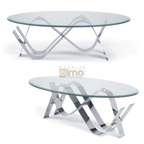 Table Basse Ovale Verre by Table Basse Ovale Marine Ezooq