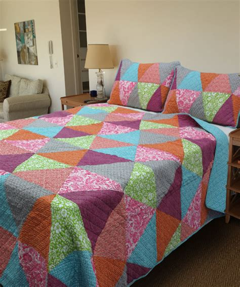 Country Patchwork Quilts For Sale - country vintage inspired patchwork bed quilt