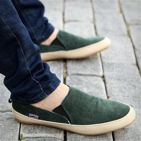 Hv6885 Sepatu Slip On Boat Flat Casual Shoes Pria M Kode Bis6939 2014 s zapato boat shoes canvas slip on