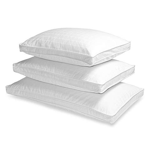 wedge pillow bed bath and beyond the seasons collection 174 grand horizon white down side