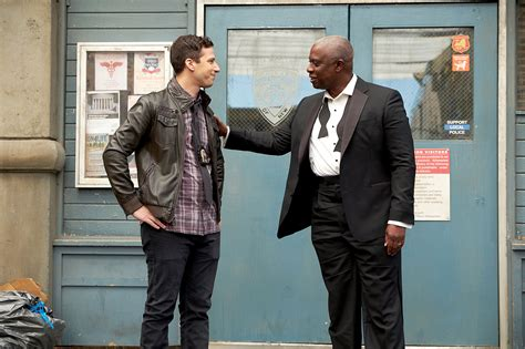 andy samberg lineup brooklyn nine nine cast thanks fans after nbc rescues show