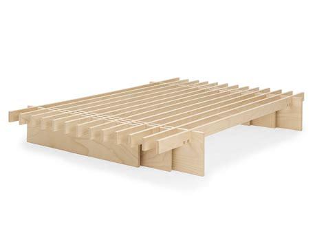 letto legno design letto dogo design ecologico doghe legno giapponese