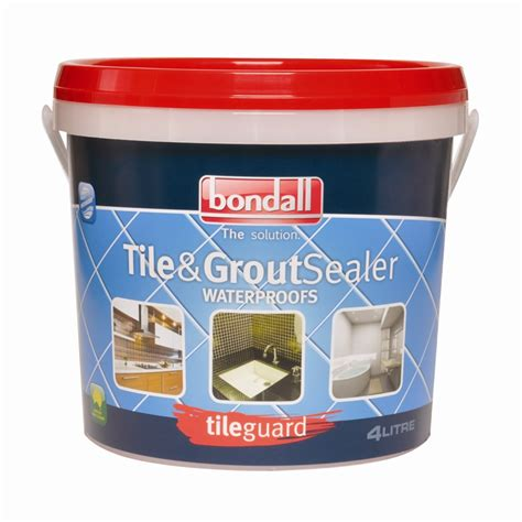 tileguard 4l tile and grout sealer bunnings warehouse
