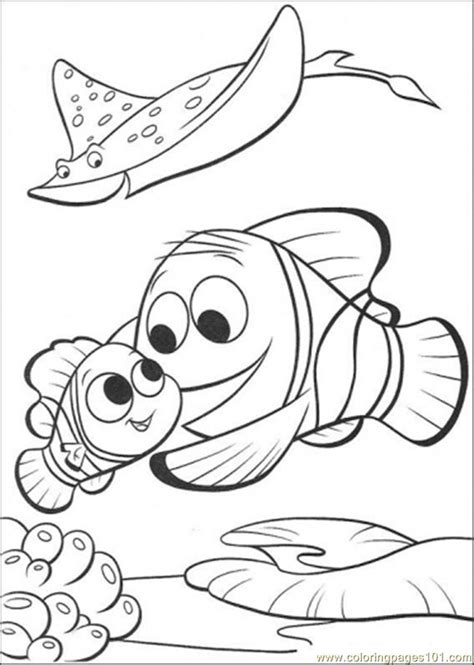 finding nemo coloring pages games merlin is finding nemo coloring page free finding nemo