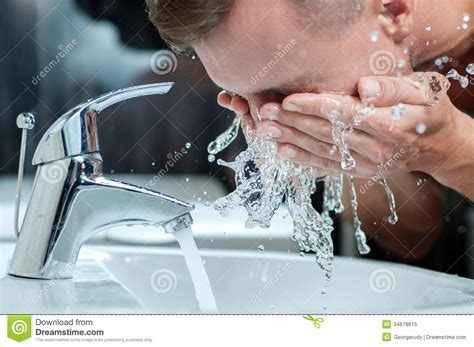Washing Your In The Shower by Washing Royalty Free Stock Photo Image 34678615