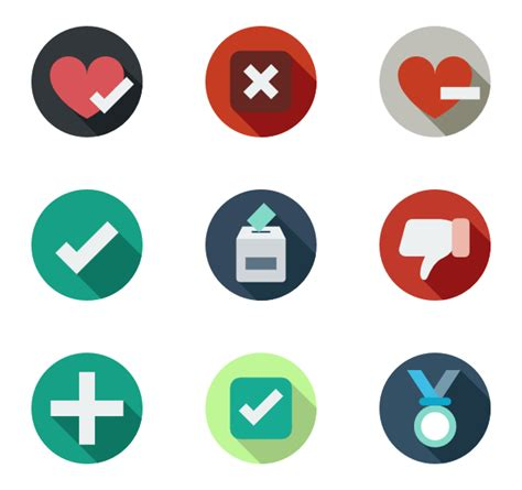 color rating validate icons 140 free vector icons
