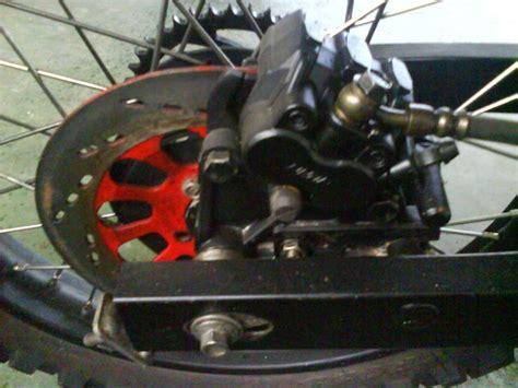 Modif Rx King Cakram Belakang by Modif Suzuki Jet Cooled Ala Belalang Tempur Mora S Notes