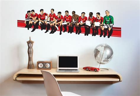 manchester united wall stickers football wall sticker gallery manchester evening news