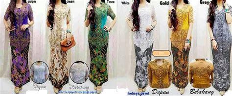 Abaya Kebaya Tafeta Arm D limited edition set abaya kebaya panjang mewah tp murah
