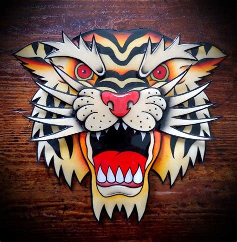 traditional tiger head tattoo the world s catalog of ideas