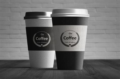 How To Make A Paper Coffee Cup - top 22 coffee cup mockup psd designs for restaurant